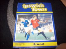 Ipswich Town v Arsenal, 1979/80